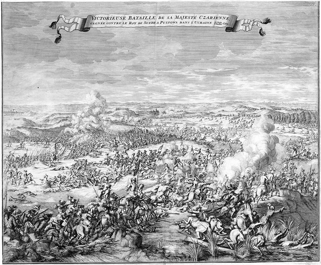 Tsarens segerrika slag vid Poltava